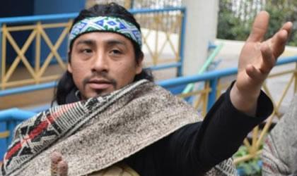 muestra mapuche